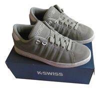 K-SWISS LOZAN III Suede Leather Trainers Sport Running Shoe Grey 6, 6.5 uk  BNIB