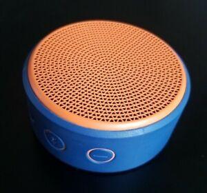 Logitech X100 Bluetooth Mobile Speaker Lautsprecher - blau/orange