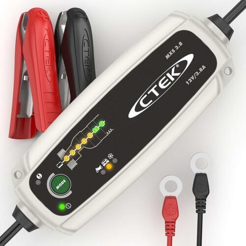 CTEK Multi MXS 3.8A 12V Car Battery Smart Trickle Charger /& Comfort Indicator