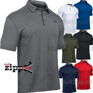 Lejos De Dios actualizar  Under Armour UA Tech Men's Golf Polo Shirt 1290140 S-3XL | eBay