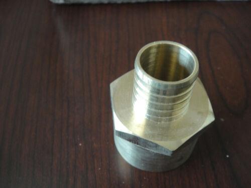 "Outdoor Wood Furnace Boiler BURNER// 1/"" Crimp Pex Fittings FPT 10 PACK"
