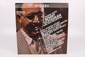Swing with Benny Goodman & His Orchestra Columbia Records 33 RPM Vinyl LP