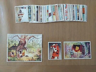 Collection Complete Des 120 Images Neuves Panini Winnie L'ourson 1997 Rare !