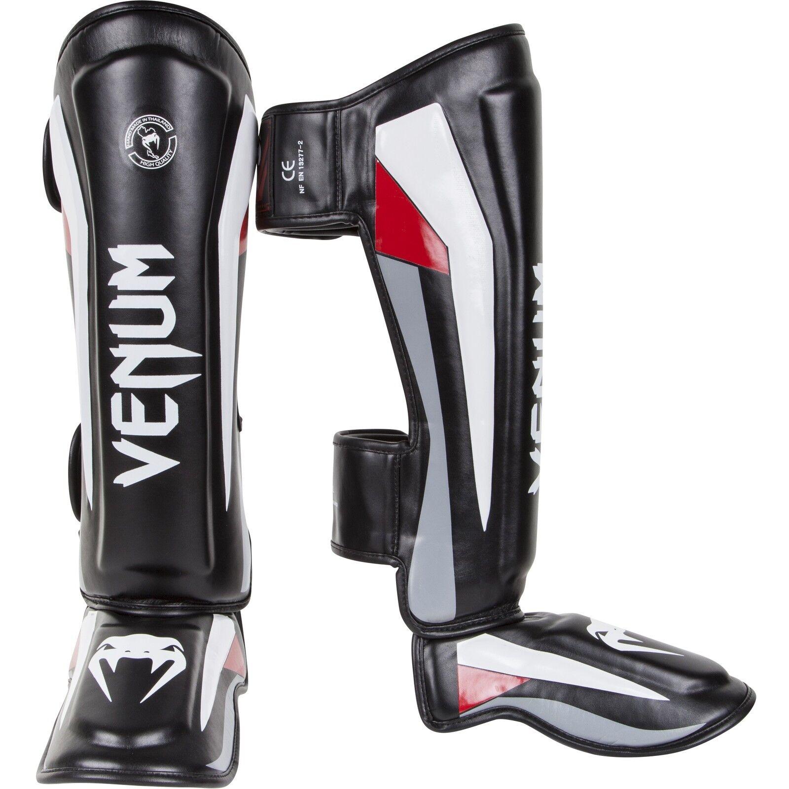 Venum Elite Ste Up shinguards MMA Shin Pads MUAY THAI
