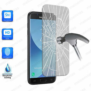 CRISTAL-TEMPLADO-Protector-pantalla-SAMSUNG-GALAXY-J7-2017-9H-Toallita-Opcional