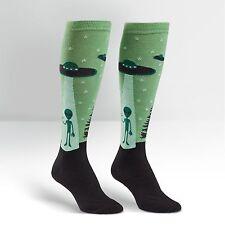 Sock It To Me Women's Funky Knee High Socks - I Believe