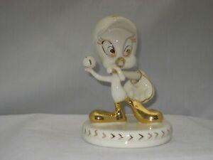 LENOX PLAY BALL TWEETY Sculpture NEW in BOX W//COA Looney Tunes Baseball 833577