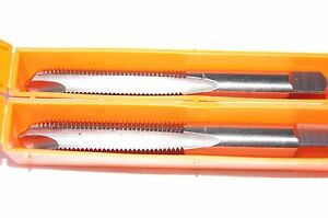 3//8-24 Spiral Point Taps HSS Plug Tap 3 Flute 12 Pack USA Made