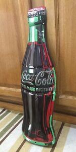 Coca cola bottle drink ice cold bottle cap vintage style for Decor drink bottle