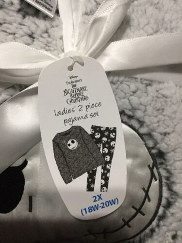 Details about  /The Nightmare Before Christmas Ladies Pajama Set Size 2X
