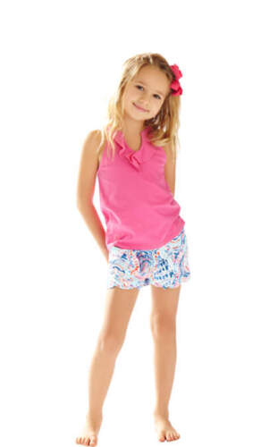 Me 5 Shorts About Multi Pulitzer Pink Shell New 4 Little Buttercup Lilly CxPqwn4U0