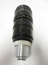 Canon TV-16 25-100mm Zoom Lens C-Mount 1.8-22f 2.5-50m *Imperfections*