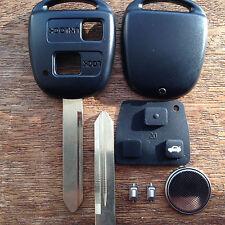 TOYOTA YARIS rav4 COROLLA CELICA PRIUS 2 pulsante telecomando portachiavi Kit di riparazione completo