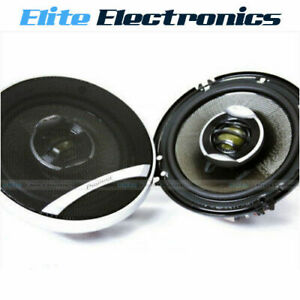 "PIONEER TS-D1602R 6.5"" 2-WAY 250W MAX 60W RMS FRONT CAR AUDIO COAXIAL SPEAKERS"