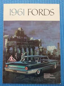 Ford (USA) Fairlane / Galaxie / Station Wagons, 1961 - 79252, Deutschland - Ford (USA) Fairlane / Galaxie / Station Wagons, 1961 - 79252, Deutschland