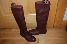 Ladies Timberland Brown Leather Earthkeepers Size UK 4 US 6W - New