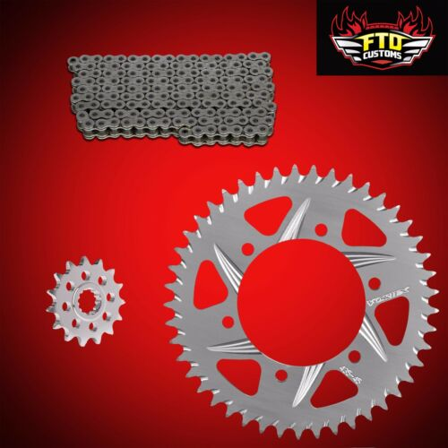 2001 GSXR 750 OEM Size Replacement Chain and sprockets  Factory Sizes