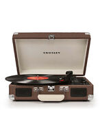 Crosley Cr8005a-tw Cruiser 3 Speed Portable Turntable Record Player Tweed Vinyl