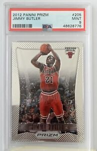 2012 Panini Prizm Jimmy Butler ROOKIE RC #205 PSA 9 MINT