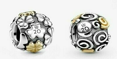 New Authentic Pandora 2020 Limited Edition Swirl Charm - beads charms  silver | eBay