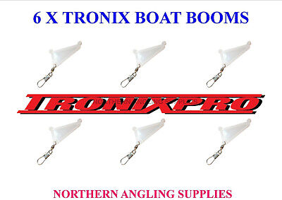 10 x ASHPOLE BOOMS FOR BOAT FISHING