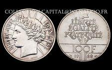 100 Francs- FRATERNITÉ. 1988. Argent