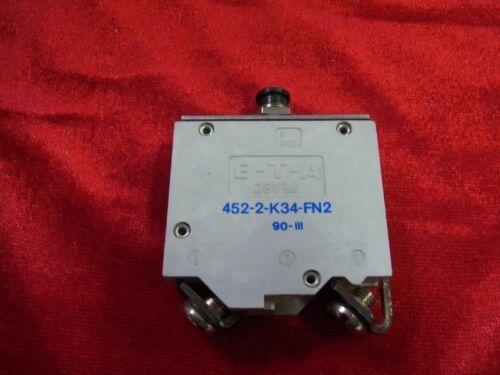 """E-t-a prestazioni disgiuntore/"""" 452-2-k34-fn2/"""" 70 a 28 V DC clandestinamente curva caratteristica!"""