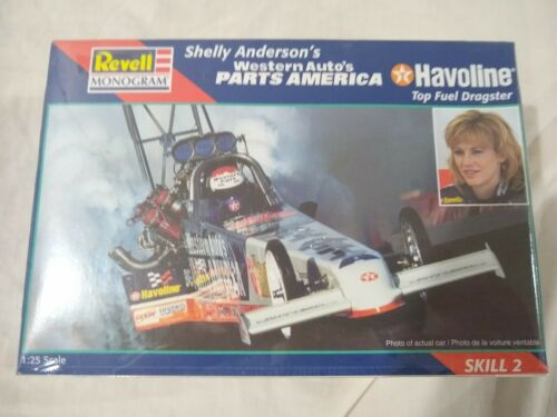 Revell Monogram Shelly Anderson/'s Western Auto/'s Parts America Top Fuel Dragster