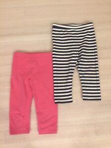 Baby-Gap-Girls-2-Pairs-Of-Capri-Pants-Size-5-Years