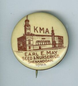 Image Is Loading Vintage Kma Earl E May Seed Amp Nursery