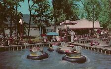 The Water Bug at Riverview Park Chicago IL Postcard Amusement Park