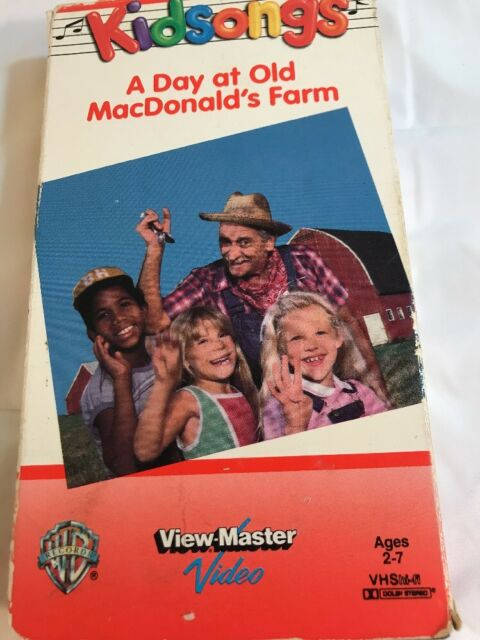 Kidsongs A Day At Old Macdonalds Farm Vhs Ebay