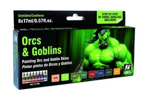 AV-Vallejo-Game-Color-Orcs-amp-Goblins-Paint-Set-72304