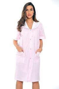 Dreamcrest-Short-Sleeve-Duster-Housecoat-Women-Sleepwear
