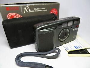 RICOH-R1-iconico-in-scatola-24mm-ampio-panorama-35mm-AF-Zoom-fotocamera-non-funzionante