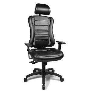 Bürostuhl Gamer Drehstuhl Schreibtischstuhl Topstar Head Point SY schwarz B-Ware