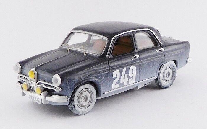 RIO 4536 - Alfa Rome Guilietta Berlina rallye Monte Carlo - 1963  1 43