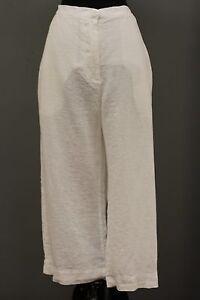 Pantalon 1g Sunny Ensoleillée Lin Taille Pince Coupé Lin Blanc Plus GOLD rr6nAUq4xw