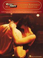 Canciones Romanticas Sheet Music E-z Play Today Book 000100117