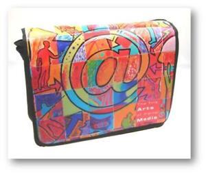 """15,4"""" Messenger Bag con scomparto notebook in design moderno  </span>"""