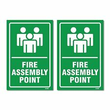 Fire assembly point sign 9022