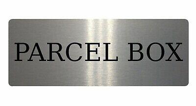 DELIVERIES ARROW LEFT Metal Aluminium Plaque Sign For House Office 20x15cm