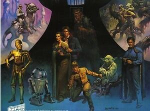 Details about STAR WARS poster original movie theater poster 1970s ()  S A L E  !! Coca Cola