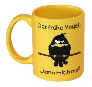 Der-fruehe-Vogel-kann-mich-mal-Tasse-Kaffeetasse-Fruehstueck-lustig-Keramik-Becher