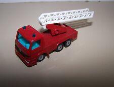 Siku Red Ladder Mercedes Fire Truck Diecast / Plastic Vehicle #1015