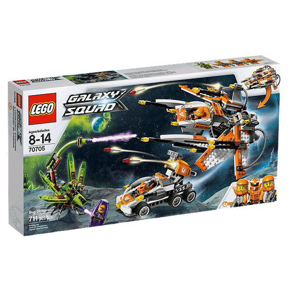 LEGO 70705 GALAXY SQUAD - KOMMANDO-SHUTTLE NEU & OVP