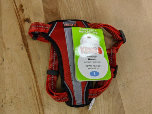 New Kong Small Red Comfort   Reflective Padded Harness 16