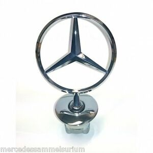 mercedes benz original stern f r motorhaube w204 w211 w212. Black Bedroom Furniture Sets. Home Design Ideas