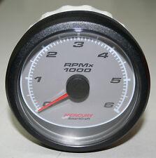 Mercury Smartcraft VDO 0-6000 RPM Tachometer - 02 066 001