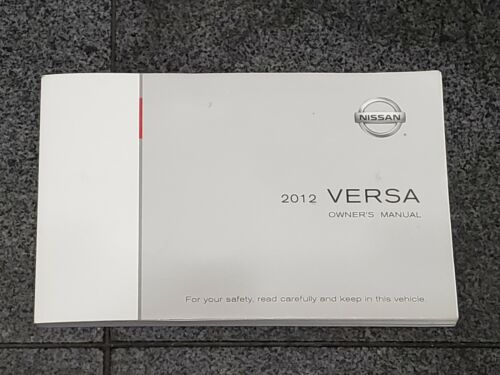 2012 Nissan Versa Owners Manual
